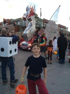 Steamboat Halloween