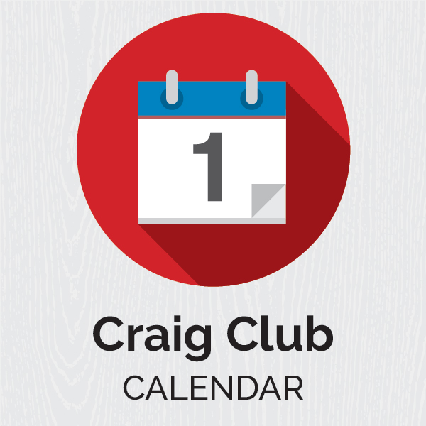 Craig Club Calendar